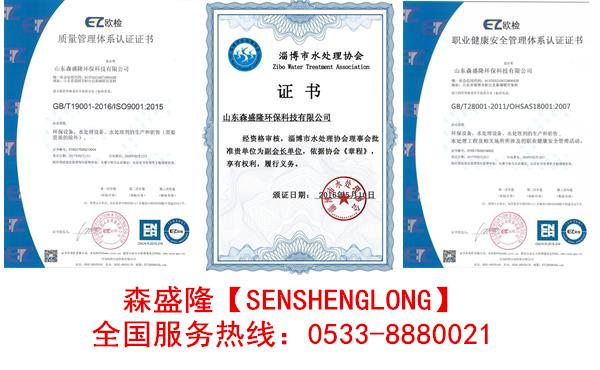 反渗透阻垢剂SS815高TDS水质应用