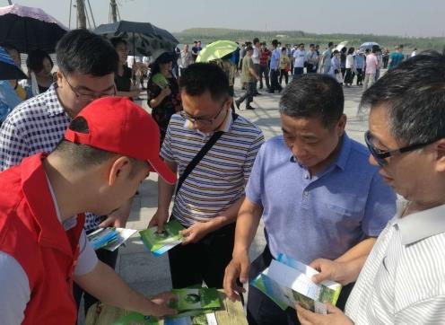 """淄博市环境监察支队开展""""市民开放日""""活动"""